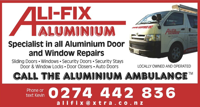 Aluminium windows and door repairs commercial in Manawatu