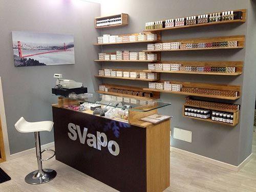 sigarette elettroniche al negozio Svapo  a Gallarate