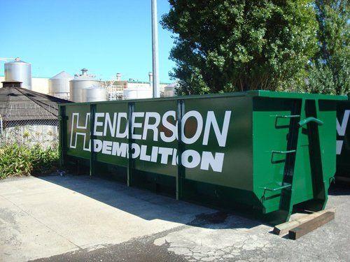 Henderson Demolition yard