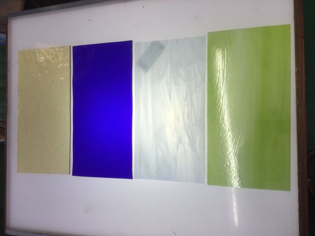 Colour stained glasses