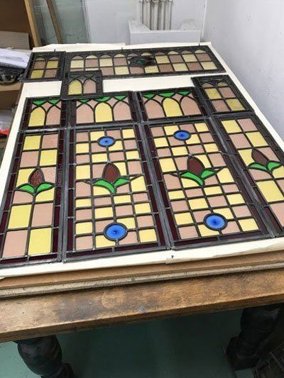 Traditional stained glass