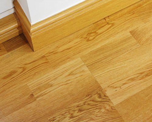 A close up of a vinyl flooring tile