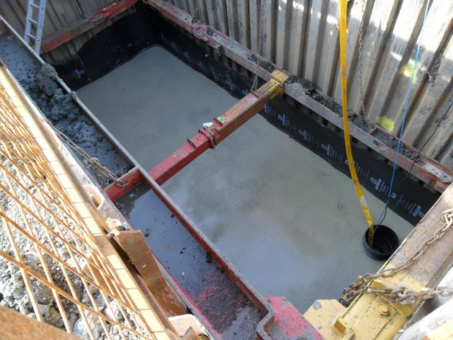 Formwork and steelwork