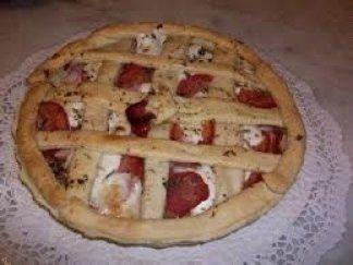torta con porchetta, torta salata
