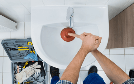 Sink unblocking