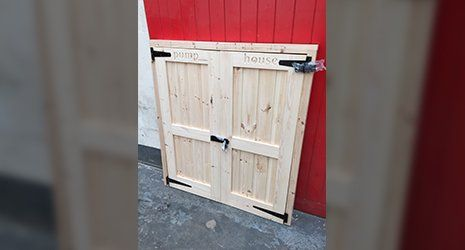 Softwood doors
