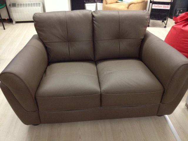 divano in pelle 2 posti