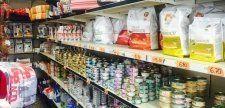 cibo per cani, cibo per gatti, accessori per animali domestici