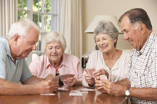 Attivitá ricreative per anziani alla Villa Carla Casa Famiglia a Retorbido