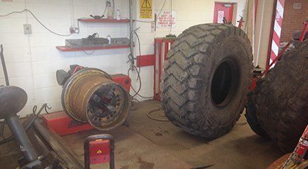 Tyre checks and replacement