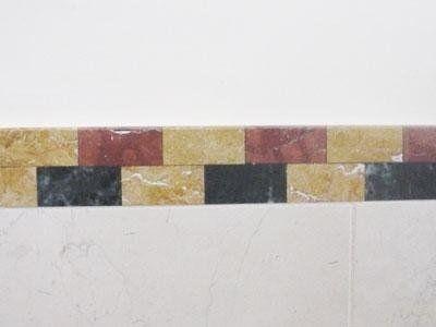 Decoro pareti in marmo