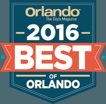 Orlando Magazine's 2015 Best of Orlando Award Logo