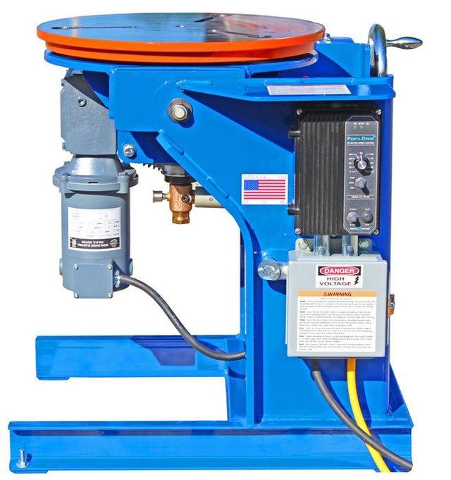 Model 1504 Welding Positioner Floor mount