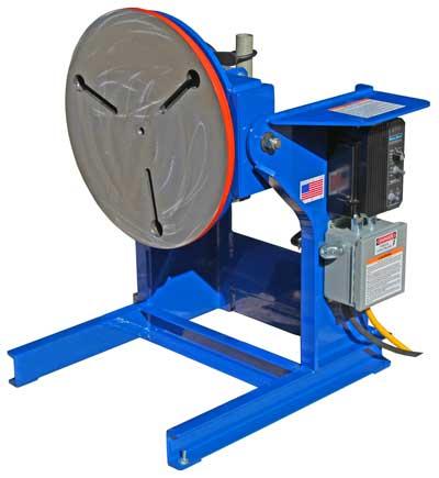 Model 804 Welding Positioner Floor mount