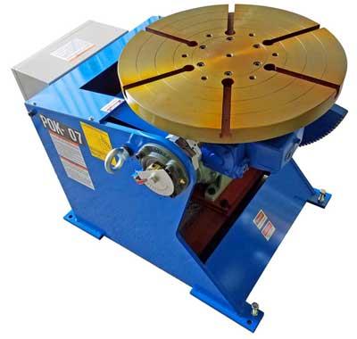 MAC Model POK-07 Welding Positioner Floor mount