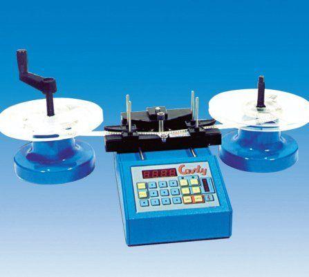Contapezzi per componenti assiali e radiali nastrati