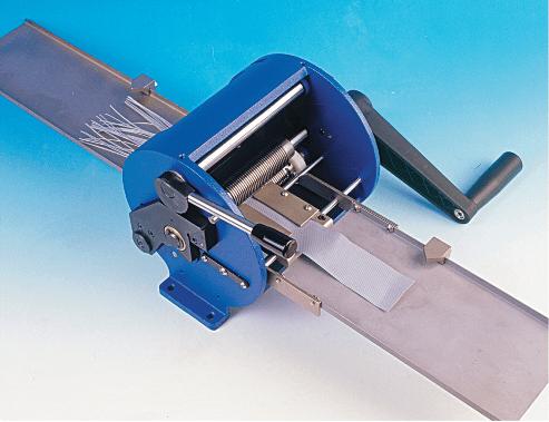 Separatore fili per cavi piatti versione manuale o motorizzata