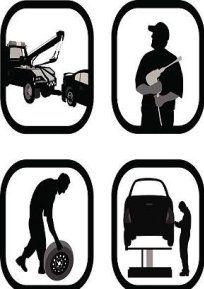 Icona inerenti a servizi di carrozzeria