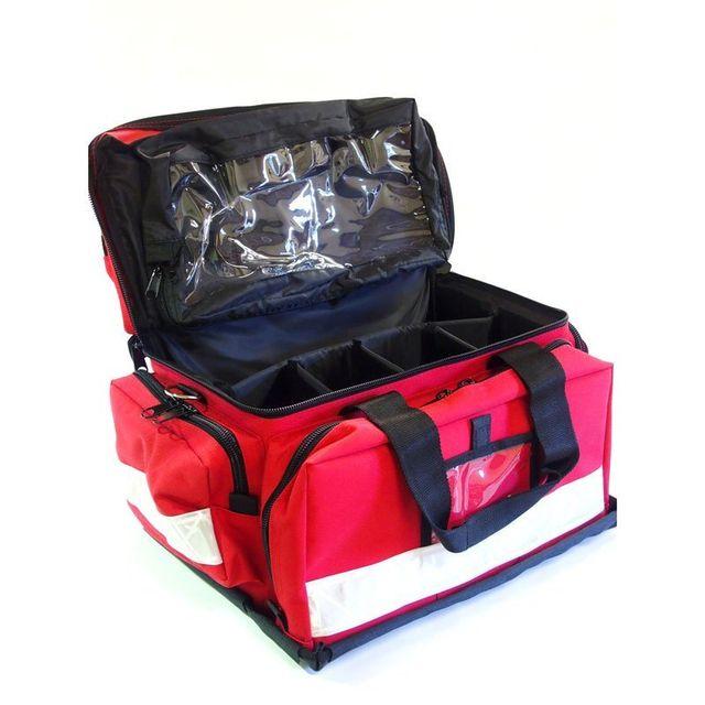 Red color responder bag
