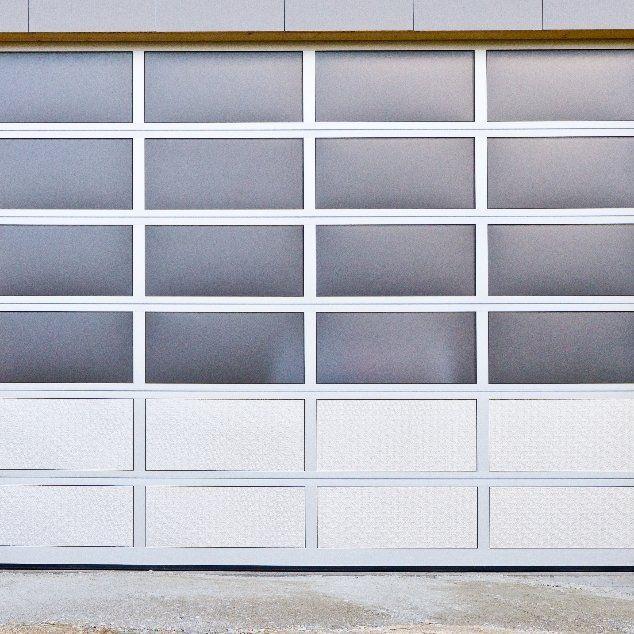 Small commercial garage door