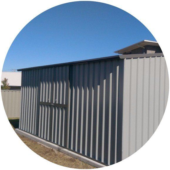 Garden Decor Newcastle: Custom Colour Garden Sheds