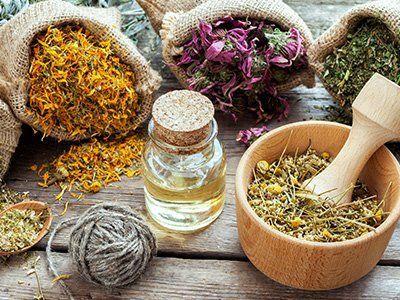 ingredienti per medicine omeopatiche