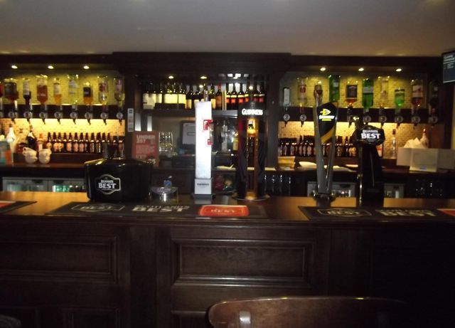 A view of our inn's bar