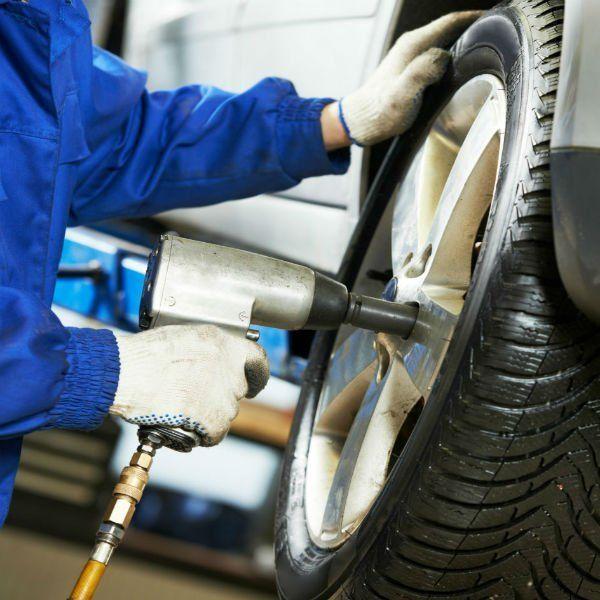 montaggio pneumatico