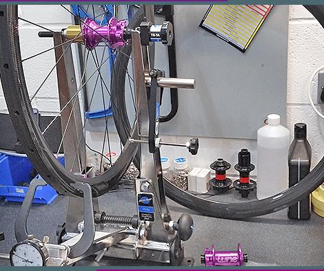 We are a bike repair shop in Threemilestone