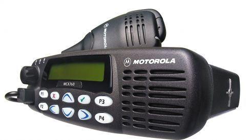 A Motorola radio
