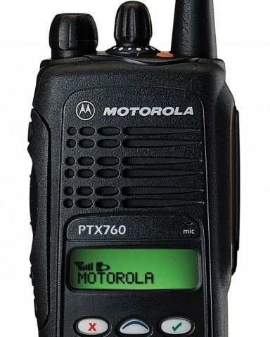 A radio communications device in New Zealand