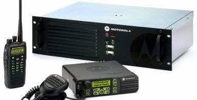 A two way radio system in New Zealand