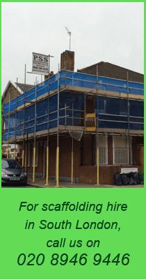 Scaffolding - Merton, South London - Premier Scaffolding Specialists Ltd - scaffold joint
