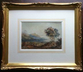 Water colours - Much Wenlock, Shropshire - Jane Maguire Fine Art Conservation - Water colours