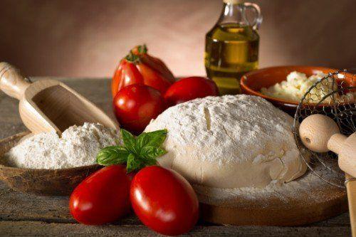 Ingredienti genuini della pizzeria napoletana