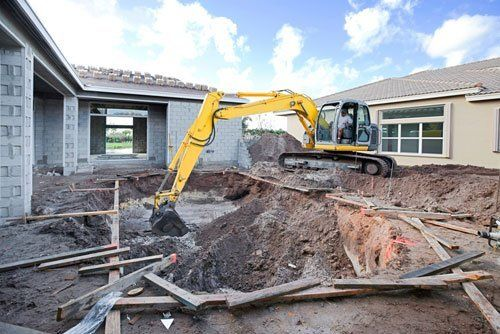 excavating construction Edinboro, PA