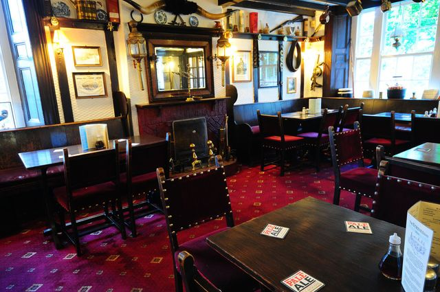 Inside our traditional pub