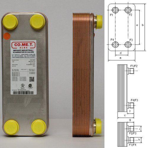 scambiatore WP1/20 piastre con progetto
