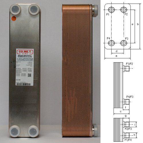 scambiatore WP1/50 piastre con progetto