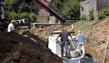 A team providing septic tank services in Forsyth, MO