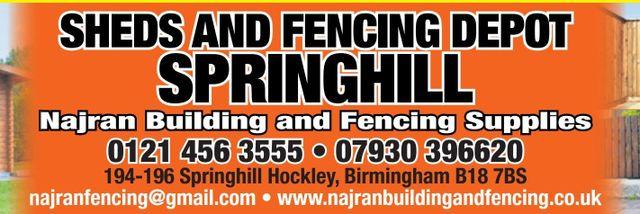 Fencing Gates Sheds In Dudley Road Birmingham Najran
