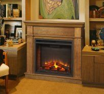 Simplifire Crestwood Cabinet electric fireplace in Anchorage