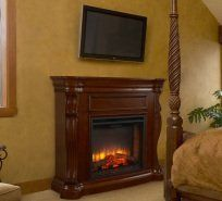 Simplifire Heritage Cabinet electric fireplace in Anchorage