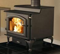 Quadra Fire 3100 Step Top Non-Catalytic Wood Stove EPA Certified, Blaze King, Jotul, Vermont Castings