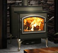 Quadra Fire 5700 Step Top Non-Catalytic Wood Stove EPA Certified, Blaze King, Jotul, Vermont Castings