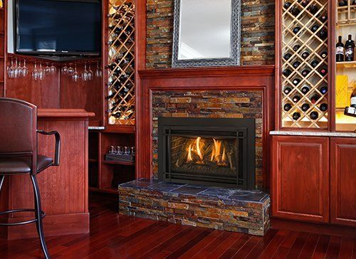 Quadra-Fire Pellet Inserts used in Anchorage - Wood Inserts Anchorage, AK Alaska Stove & Spa