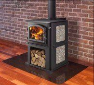 Quadra Fire Discover I Top Non-Catalytic Wood Stove EPA Certified, Blaze King, Jotul, Vermont Castings