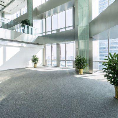 commercial building flooring