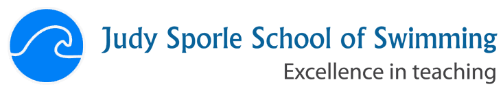Judy Sporle School of Swimming Company Logo