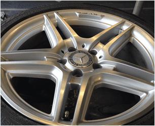 Alloy wheel repairs for car dealerships